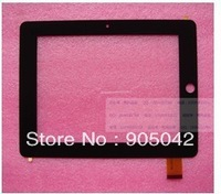 Free shipping 7 inch capacitive touch screen panel/digitizer for tablet pc CUBE U9GT-S (camera in middle) MT70216-V0