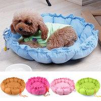 5 Colors New Warm Soft Pet Puppy Cute Dog Cat Sleeping bag Pumpkin  Bed Cushion Nest Mat Cushion House Sofa