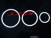 50mm External diameter, 2pcs, Super bright waterproof LED angel eyes rings, COB lens, Q5 Hella, big lamp, Car Decorative Lights