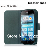 Free shipping hot selling holster leather mobile phone sets for Acer Liquid E2 v370  protective cover