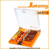 Packing removal screwdriver,45 in 1 screwdriver set,JM-8115