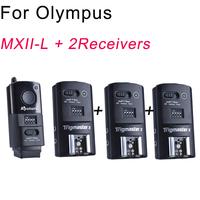 Aputure 16 channel flash Speedlite Trigger with 2 receivers for Olympus E620,E600,E520,E510,E450,EM5,EP1,E30 Dslr Cameras