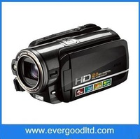Fast Shipping HD-D10II Camcorder 12.0MP Digital Camera Voice Recording,5X Optical Zoom,4X Digital zoom,3.0inch LCD