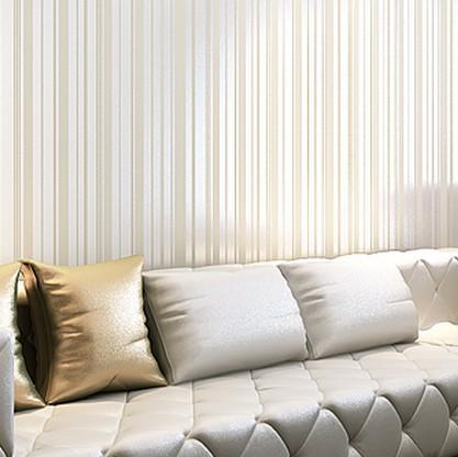 Tecido reunindo finas listras verticais papel de parede para sala de