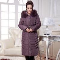Winter jacket women Winter Coat Women down coat 6XL Plus size Women Raccoon Fur Hood Duck Down Jacket Women X-long Parkas 134