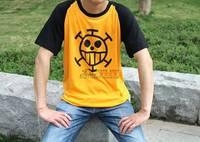 ONE PIECE POP Cosplay Trafalgar Law cartoon Men's clothing short-sleeve T-shirt Free shipping