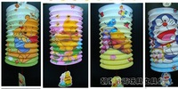 Wholesale! Hot selling cartoon beautiful pastel lantern design cartoon Christmas paper lantern of gifts for children 12 PCS