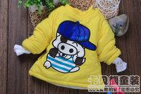 2013 winter child wadded  cotton-padded  children children's clothing boys child baby cotton-padded jacket  Cheap wholesale