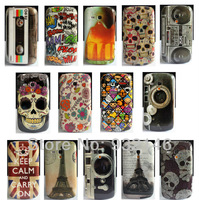 14 x Various Multi Pattern HARD SKIN COVER CASE For Samsung Galaxy SIII S3 Mini i8190
