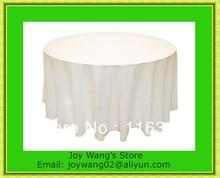 popular white wedding tablecloths