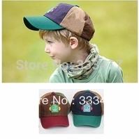Cartoon Robot Color Matching Baseball Cap The Children Sun Cap[700029]