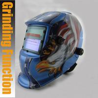Solar Auto darkening welding/polish/grinding helmets/welder mask/eyes goggles/cap for MMA TIG MIG welding machine