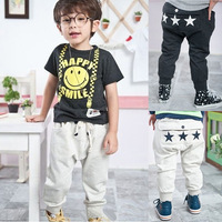 1pcs Retail kids pants 2013 children clothing Boys star pants Kids clothes 100-140 Baby boy girl clothing