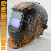 Sexing apperance Solar Auto darkening welding/polish/grinding helmets/welder mask/eyes goggles/cap for MMA TIG MIG weld machine