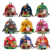 school bag girl trolley boy children bag school cartoon animal backpack fashion cartoon bag 3d shoulder kids bags for school