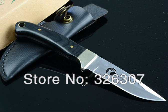 Cutter knife straight knife collection keel structure a body guard cutter knife mirror light version