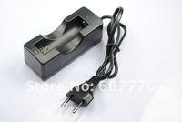 Single 18650 rechargeable Battery Charger(AC 100~240V/EU Plug)