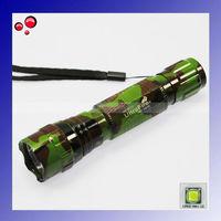 Camouflage Ultrafire 501B Cree XM-L U2 1300 Lumen 5-Mode LED Flashlight/Bicycle Light/Tactical Light +Free shipping