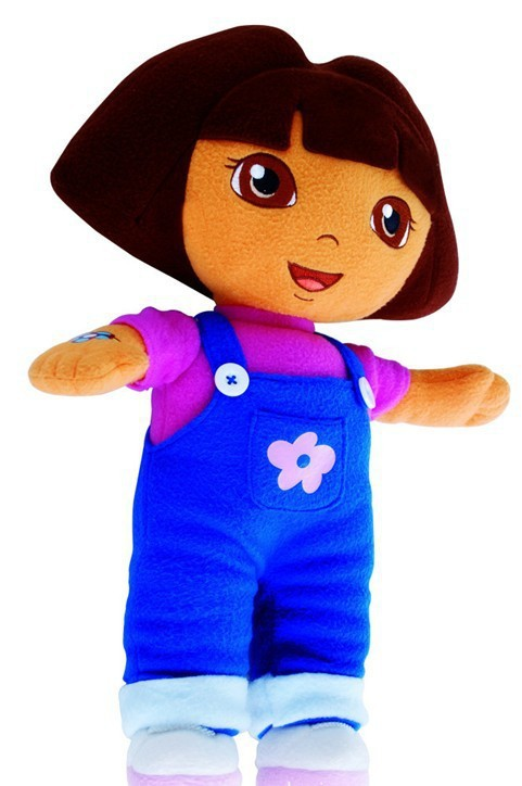 2013 New fashion Big 30 cm =12inch DORA THE EXPLORER Kids Girls Soft Cuddly Stuffed Plush Toy Doll New Free shipping(China (Mainland))