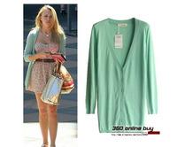 Free shipping 2014 women summer hot fashion ultra thin women knitted sweater cardigan medium-long women fall fashion