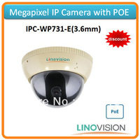 Freeshipping Linovision 720P IP camera IPC, support POE