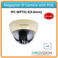 Freeshipping Linovision 720P IP camera IPC, support POE