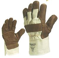 Deltaplus 204605 dr605 cowhide gloves thumb strengthen   C91321