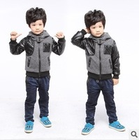 Free shipping,Retail 2013 autumn children's coat ,baby outerwear ,children clothing ,boys autumn jacket ,1pcs/lot  155