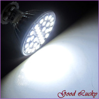 10 PCS/Lot Free Shipping MR16 5W 29 LED 5050 Day White Energy led Bulb Lamp 450 LM AC220V-240V LED0248
