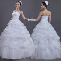 free shipping  new  princess fantasy LACE  brides dress
