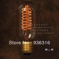 Free shipping E27 Edison light bulb filament bulb firework light bulb decorative retro retro bar table lamp creative personality