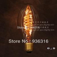 Free shipping 6pcs/lot filament bulb E27 Edison light bulb fireworks light bulb decorative retro bar  lamp personality