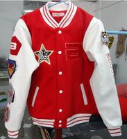 Quality 2013 New Bigbang GD G dragon same baseball sport coat jacket fashion Hip Hop rapper hoody