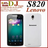 "original 4.7"" Lenovo s820 android mobile phone MTK6589 quad core 1GB RAM 4GB ROM dual camera 13MP bluetooth GPS"