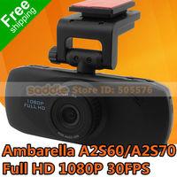 """Car DVR Camera Eeyelog EHD66 EHD65 HDW002 with Ambarella A2S60/A2S70 H.264 1080P 30FPS 2.7"""" LCD Car Plate stamp G-Sensor"""