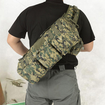 Outdoor US air force fatboy gobag single shoulder cross-body casual military tactical MOLLE multi-pockets backpack free shipping