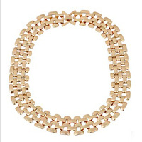 New necklaces & pendants items 2014 women fashion jewelry statement body chain gold choker N290