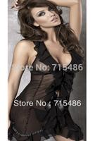 DA2157 Free Shipping Promothion!!! Hot Selling underwear Women Sexy Female V-neck Sexy  Lingerie Pajamas