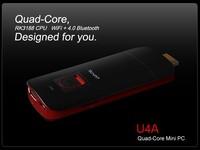 Free Shipping Measy U4A Rockchips 3188 Quad core ARM Cotex A9 1.8GHz 1G/4G Bluetooth 5G WiFi+4.0 Bluetooth module Android 4.2