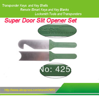 Free shipping Super Door Slit Opener Set  0.15 mm, pack of 2 pcs and 1 handle.