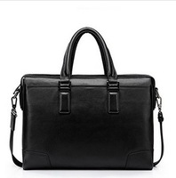 Sammons Series Of The Abortive Calfskin Business Casual Dual-use Bag Business Casual Shoulder Bag cowhide Business Casual