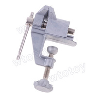 Mini Table Vice Aluminium Alloy Bench Screw Bench Vise for DIY Jewelries Craft Mould Fixed Repair Tool   20847