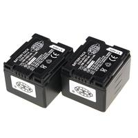 2pcs/set CGA-DU14 CGA DU14 LI-ION Battery For PANASONIC CGR-DU06 DU07 NV-GS10 GS100K GS17E PV-GS65 DropShipping