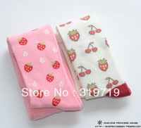 2013 New arrival princess pantyhose Strawberry pattern female baby pantyhose