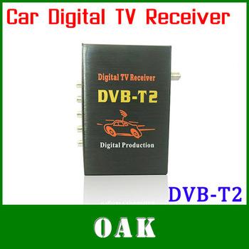 Free Shipping - Car DVB-T2 Receiver Digital TV Tuner Receiver DVB-T2 Set Top Box