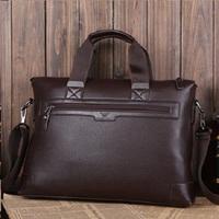 2013 Hot Sale Famous Brand Male Casual Shoulder Bag Male Genuine Leather Shoulder Bag men'sCowhide Shoulder Messenger Bag A4