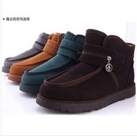 Free shipping Beckham new winter snow boots for men paragraph cotton padded shoes waterproof outdoor mountaineering Men boots 3