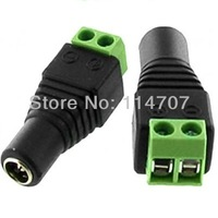 High End LED Strip Public DC Power Plug DC Jack Connector Female Avoid Welding Free shipping