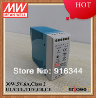 MEAN WELL Mini Size with PFC Function UL&CUL&TUV&CB&CE MDR-40-5 6A 30W 5V Power Supply Din Rail