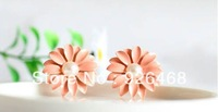 Free shipping( 50pairs a lot) 72052 fashion little daisy flower stud earring